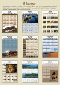 Print Image A1 Calendars p1